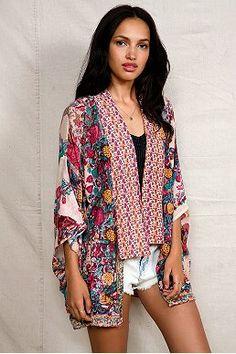 American Vintage Boho Kimono Jacket Price
