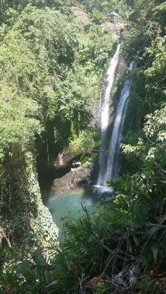 Aling - aling waterfall at Singaraja, Bali