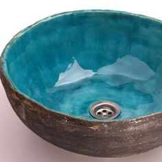 Handmade Sink, Ceramic Sink, Waschbecken, Washbasin, Sink From Clay, Clay  Basin