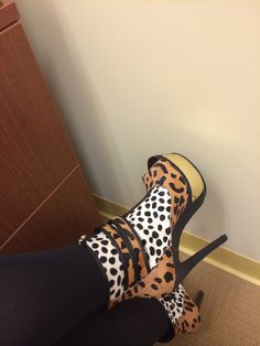 Keisha Cole Steve Madden.  No court today so I let it fly!