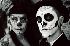 Make Caveiras Mexicanas