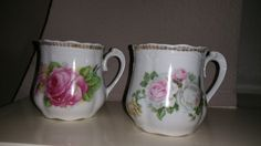 Vintage,German Porcelain,Shaving mugs,Marked Germany,Great condition,Victorian Decor,Shaving Collectible,Sold in Pair by AhNeatAhShop on Etsy
