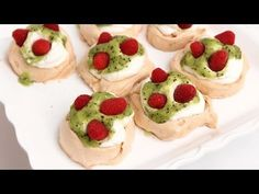 Mini Pavlova Recipe - Laura Vitale - Laura in the Kitchen Episode 778 - YouTube