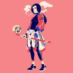 Volleybrawl. • • • • #illustration #illustrationoftheday #drawing #jordiros #art #artist #artwork #design #graphics #visuals #graphicdesign #instaartist #designspiration #artsanity #artfido #illustrationartists #gfxmob #illustrationage #wacom #cintiq #madeinbarcelona #barcelonagram #art_collective #brutsubmission #PajamaGallery Jor Ros ©2017