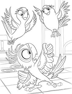 Carla, Bia and Tiago prepare for the Amazon (and a little more color). For more Rio 2, check out the #KohlsCares book Blu's Wild Journey.