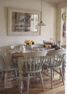 Love the table and chairs. I plan to paint ours this colour (if my hubby agrees!)