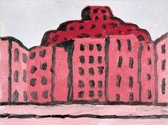 pink city, Philip Guston