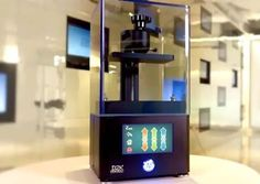 Another LCD-Based Desktop 3D Printer: The D2K Insight #3DPrinting