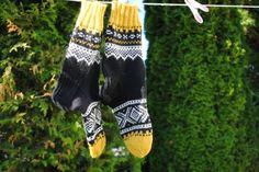 Mariusmønstrede sokker
