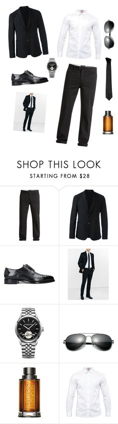 """My Dream#"" by maidpolyvore ❤ liked on Polyvore featuring Quiksilver, Emporio Armani, Express, Raymond Weil, BOSS Hugo Boss, Ted Baker, Versace, men's fashion and menswear"