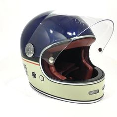 Viper F656 Vintage Helmet - Retro Motorcycle Helmet – Urban eBikes Retro Motorcycle Helmets, Retro Helmet, Biker Helmets, Vintage Helmet, Women Motorcycle, Cafe Racer Helmet, Cafe Racer Motorcycle, Cafe Racer Casco, Ducati Monster Custom