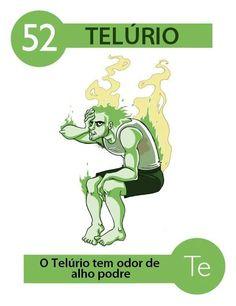 O telúrio (símbolo químico Te) é um dos elementos representativos da tabela periódica dos elementos, se situando no grupo 16 (antigo 6A). Há algum tempo era considerado um semi-metal ou metalóide, entretanto, como não há total consenso sobre a determinação de um elemento como metal ou ametal por parte das organizações responsáveis, a SBQ (Sociedade Brasileira de Química) adota, dos metalóides, apenas o germânio, antimônio e polônio como metais. Assim, o telúrio é, hoje, considerado ametal.