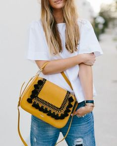 Jamie Gernert with the kate spade new york robson lane luxe darcy.