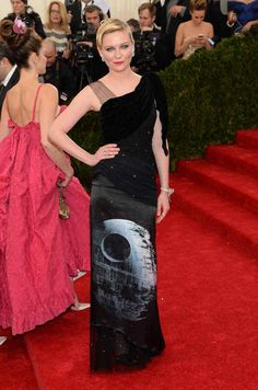 No way! Awesome....Kirsten Dunst | All The Pretty Dresses From The 2014 Met Ball