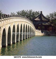 Seventeen Arch Bridge in Summer Palace, Beijing, China