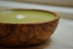 Cream of Asparagus Soup with Yogurt and Tarragon -- recipe by merrill, photo by sarah shatz on food52