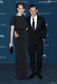 """Evan Rachel Wood et Jamie Bell - Soirée du gala """"LACMA 2013 Art + Film"""" à Los Angeles le 2 novembre 2013."""
