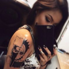 kakashi tattoo | Tumblr