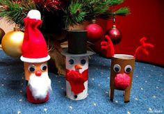 Prace plastyczne - Kolorowe kredki: Boże Narodzenie