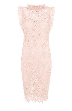 Feminine Dress Lace Pink | The Musthaves Op zoek naar een vintage kanten jurk? Deze jurk is super chique en heeft all over kant! Super goedkoop! Bestel nu!