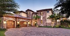 ePlans Mediterranean House Plan – Tuscan Inspired Living– 3777 Square Feet and 4 Bedrooms from ePlans – House Plan Code HWEPL76164