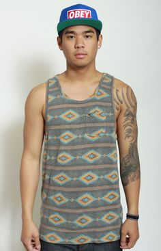 Indian Summer Tank Top by OBEY at MOOSE Limited
