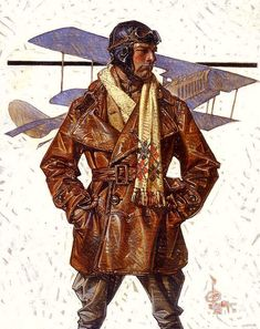 World War I (1917) by Norman Rockwell