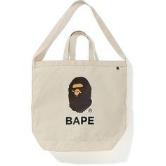 Pre-Owned Bape Shoulder Tote Bag Ivory Bape, Reusable Tote Bags, Ivory, Mens Fashion, Shoulder, Hand Bags, Shopping, Moda Masculina, Male Fashion