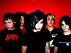 Escape the fate( lifestyle) honestly we HAVE to put bands under lifestyle. Id say 60% of punk and goth life is the music! escape the fate is a rock/mild screamo band, their lyrics tend to be on the completly inapropriate side, or else super depressing and angry.