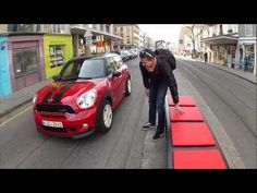 "The MINI JOHN COOPER WORKS Countryman caused a bit of a ""buzz"" with the Thrill Bench at the Geneva Motor Show 2012."
