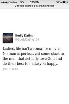 Godly dating is better than romantic movies