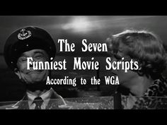 These Are the Funniest Screenplays Ever, According to the Writers Guild of America | Mental Floss