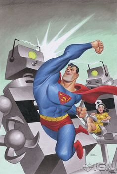 """Superman Unchained"" Variants Celebrate 75 Years of Superman - Cover by Bruce Timm"