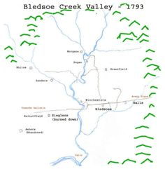 History of Sumner County, TN: Bledsoe's Creek, Part Six - Attack & Counterattack, Chapter 2, By Bill Puryear