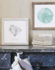 Gift them a print of their birthstone, or the constellation they were born under. Both available from MInted.