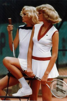 Lacoste Vintage Tennis Photos - Elle