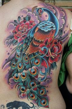 will be glad to finally get color filled in on my sleeve of my peacock