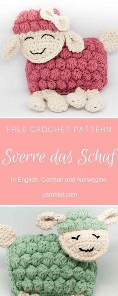 Sverre das Schaf gibt es jetzt auch auf Deutsch! Also in Norwegian and English :)