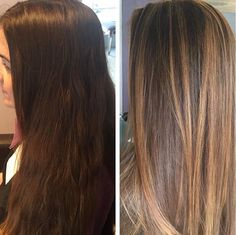 Hair Color Highlights Techniques And Global Color Of