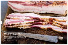 PROTEIN SHORTAGE, AVERTED Meat in Motion: 10 Best Mail-Order Meat Companies By HENRY PHILLIPS on 12.13.13