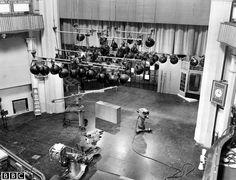 A 1950's Television Studio