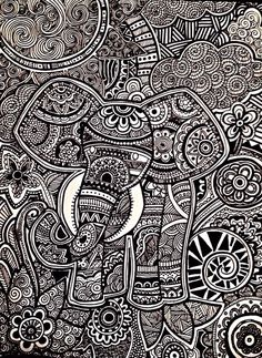 zentangle art dani hoyos - Buscar con Google