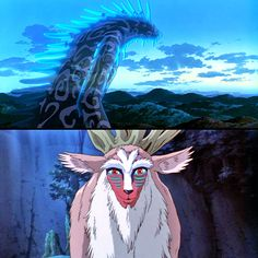 The Forest Spirit/The Night-Walker, Princess Mononoke