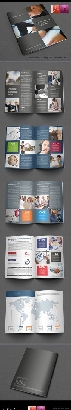Designs For Corporate Brochures  Graphic Inspiration
