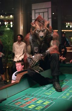 Were-hyena from Blade Trinity by Spectral Motion.