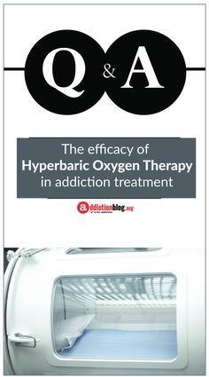 """Hyperbaric Oxygen Therapy (HBOT) can help accelerate brain recovery and assist addicts whose brains have been damaged from years of substance abuse. How does #HBOT help #addiction recovery? What are the advantages of using #oxygen #therapy in the treatment of addiction? We provide the answers in the following text. """"a"""" is for addiction 