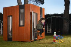 Items similar to Hobikken Junior kids playhouse. Nordic inspired wooden house for the garden on Etsy