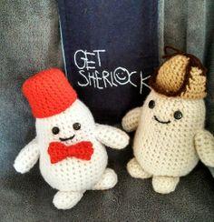 Eleventh Doctor and Sherlock Adipose