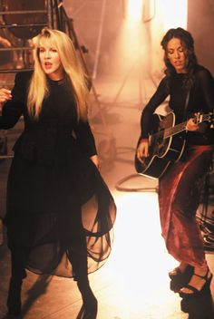 Stevie Nicks and Sheryl Crowe
