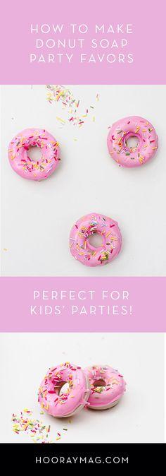 Donut Soap Kids Part